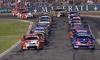 Ambrose clashed with Skaife off the start at Barbagallo in 2005