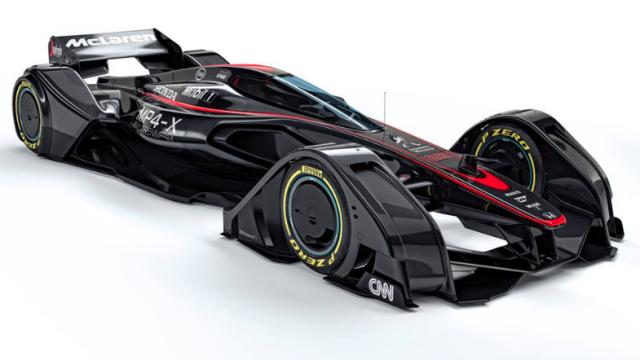 McLaren's Mp4-X concept