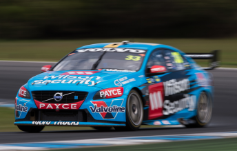 Scott McLaughlin (pictured) will be joined by James Moffat at Garry Rogers Motorsport next season
