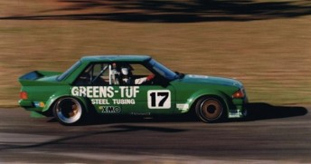Dick Johnson's Greens'-Tuf Falcon was one of a number of iconic Group C cars