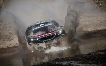 Sebastien Loeb claimed his first Dakar stage win