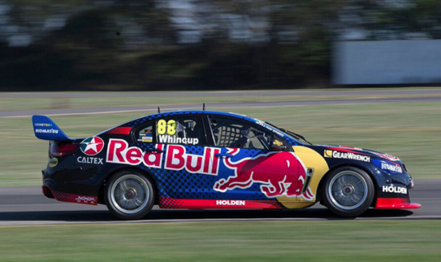 Red Bull has already unveiled its livery for 2016, with Lowndes' Caltex car to follow