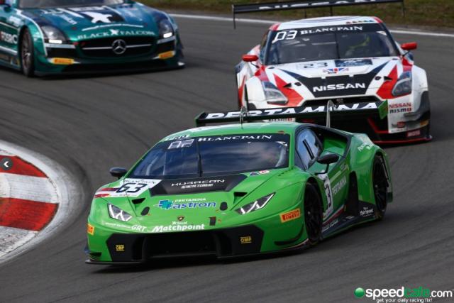 The Lamborghini Huracan has enjoyed some success in the Blancpain GT Series