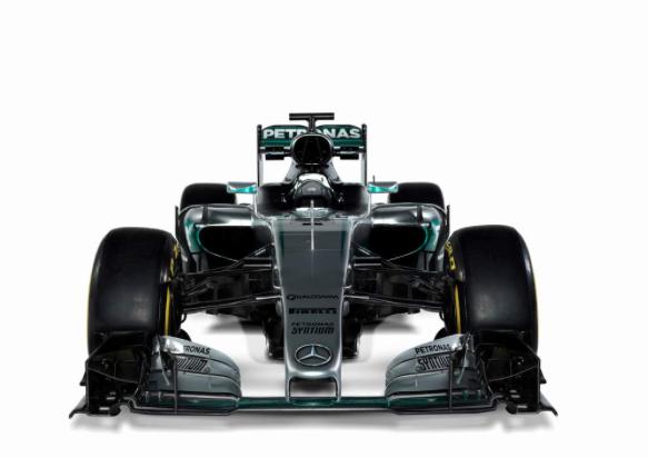 Mercedes W07 front