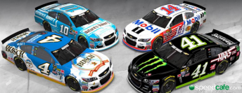 Stewart-Haas Racing will switch from Chevrolet to Ford for its four-car line-up 2017