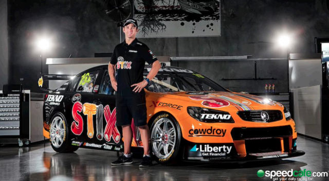 Tekno Autosports will run a Darrell Lea livery for Will Davison
