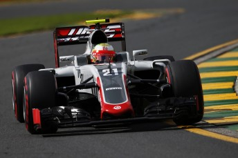 Esteban Gutierrez will use a a spare chassis at Bahrain