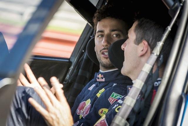 Daniel Ricciardo and Jamie Whincup