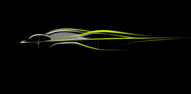 An official graphic promoting the hypercar project