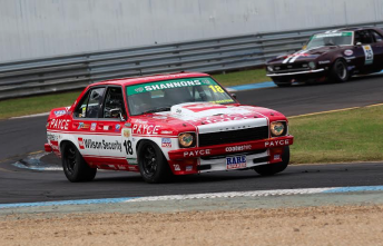 John Bowe on his way to victory in Race 2