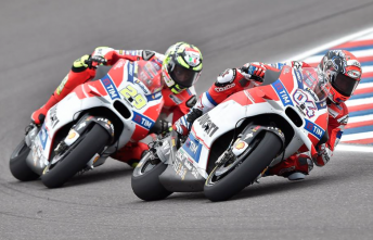 Ducati is expected to chose either Andrea Dovizioso or Andrea Iannone to partner new 2017 recruit Jorge Lorenzo