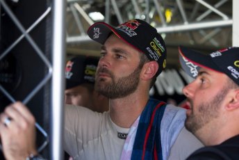 Shane van Gisbergen with engineer Grant McPherson