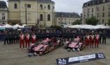 Matheo Tuscher (CHE) / Dominik Kraihamer (AUT) / Alexandre Imperatori (CHE) #13 and Nicolas Prost (FRA) / Nelson Piquet Jr (BRA) / Nick Heidfeld (DEU) #12 Rebellion Racing Rebellion R-One AER,