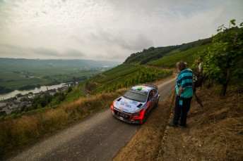 Paddon had his moments to be placed in eighth
