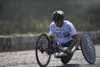 Racing Driver Alex Zanardi Wins Repeat Time-Trial ...