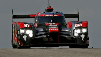 Audi's #7 R18 diesel-powered e-tron quattro has led a front-row lock-out for the Ingolstadt maker