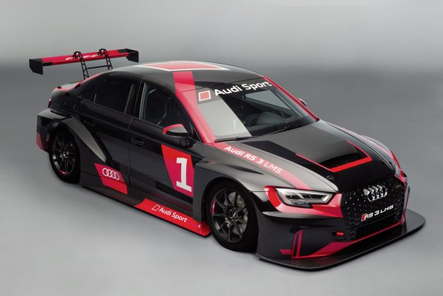 Audi's new RS 3 LMS racer