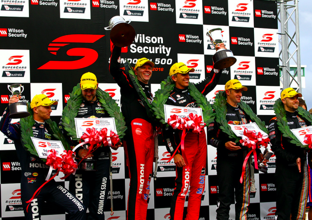 Tander and Luff atop the podium