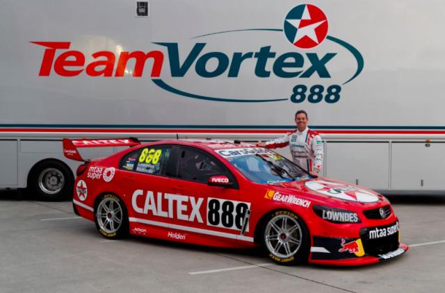 Lowndes unveils retro Caltex colours - Speedcafe