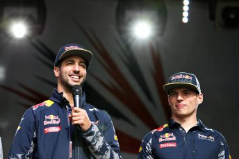 Daniel Ricciardo is enjoying his intra team battle with Max Verstappen