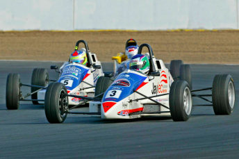 Blanchard beat James Moffat to the 2007 Aus Formula Ford title