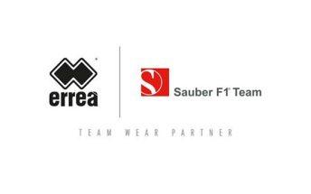 Errea Sport joins Sauber