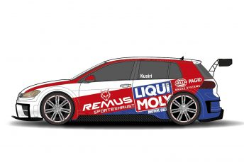 The Team Engstler car for TCR Asia