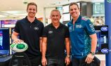 Morgan and Lowndes square off in ultimate race to launch Supercars in Townsville