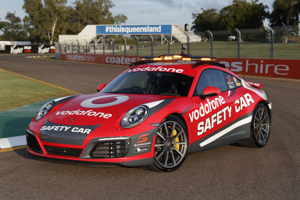 Supercars reveals new Porsche Safety Car - Speedcafe