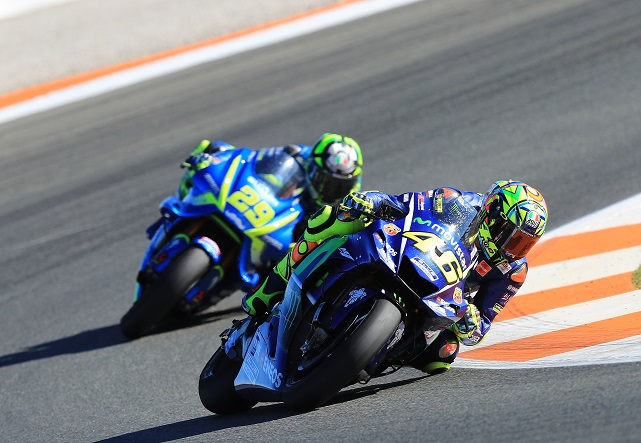 Rossi and Viñales used 2016 chassis at Valencia - Speedcafe