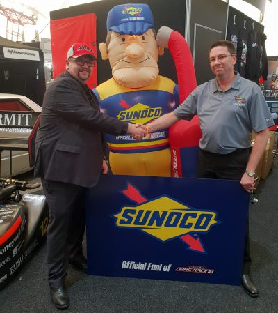 Sunoco announced as ANDRA's official fuel supplier - Speedcafe