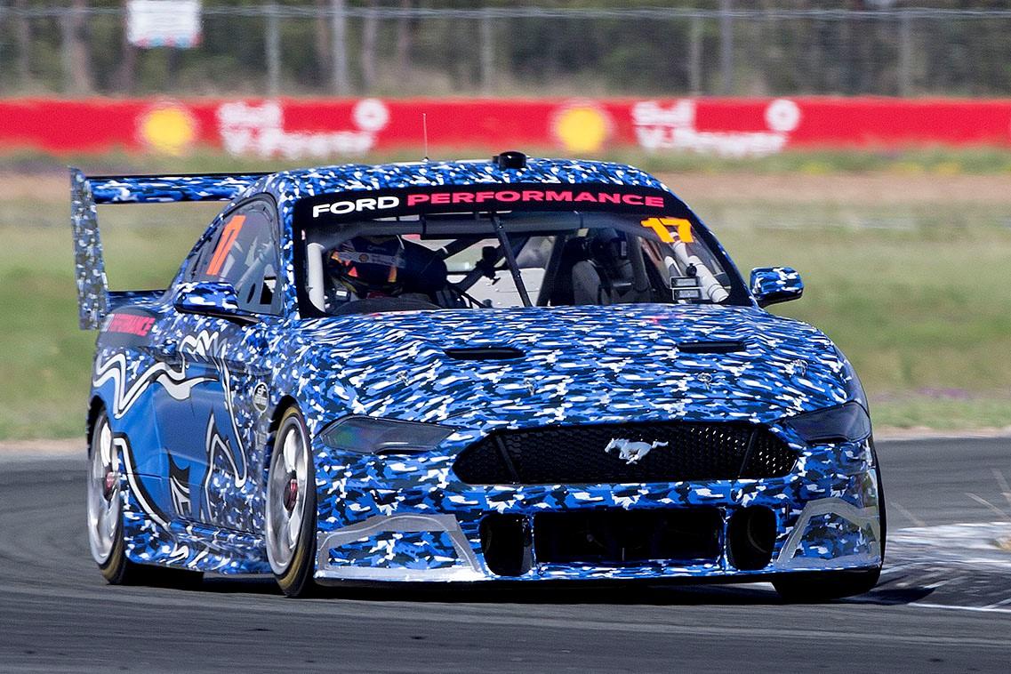Mustang set for homologation tests after straightline aero runs