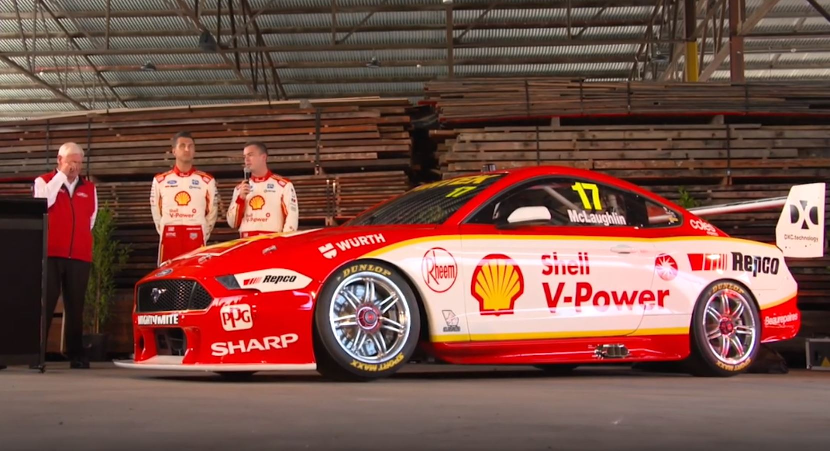VIDEO: Shell V-Power Racing unveils its 2019 Mustang - Speedcafe