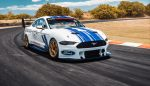 Mustang Supercar on track - Front view 3