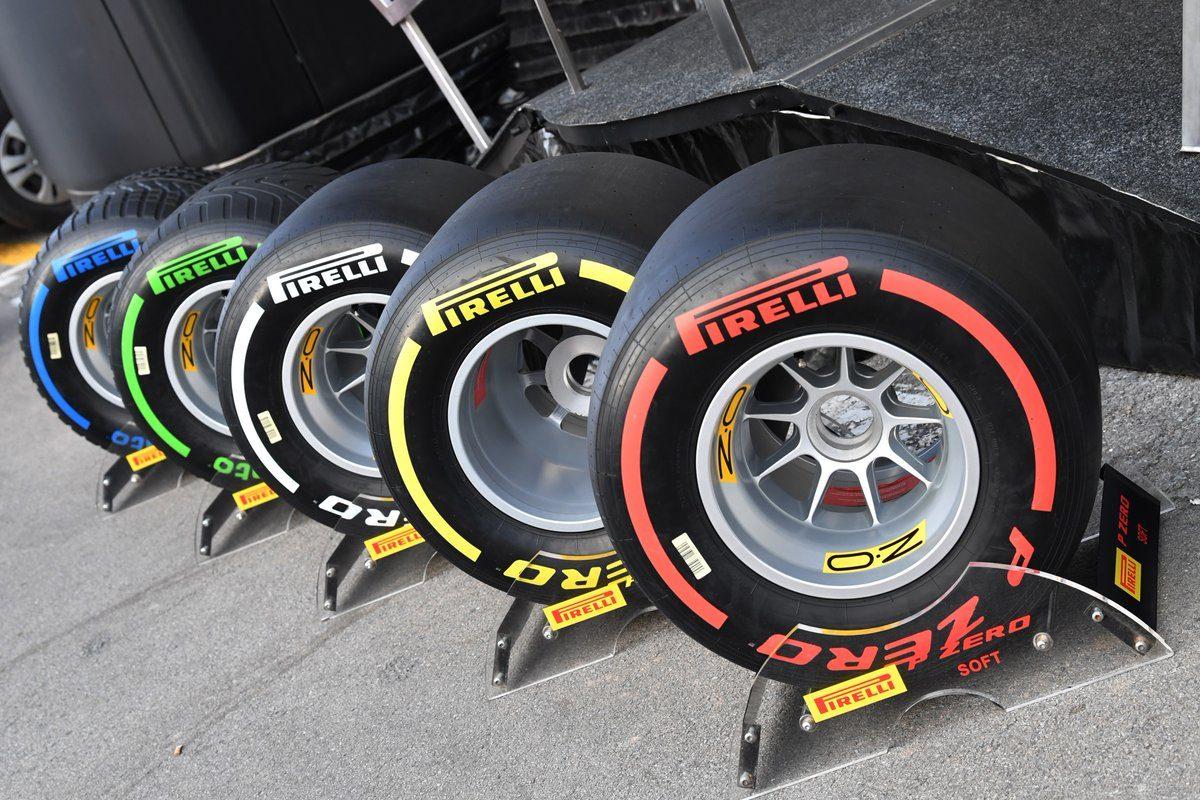 Formel 1 Reifen 2019