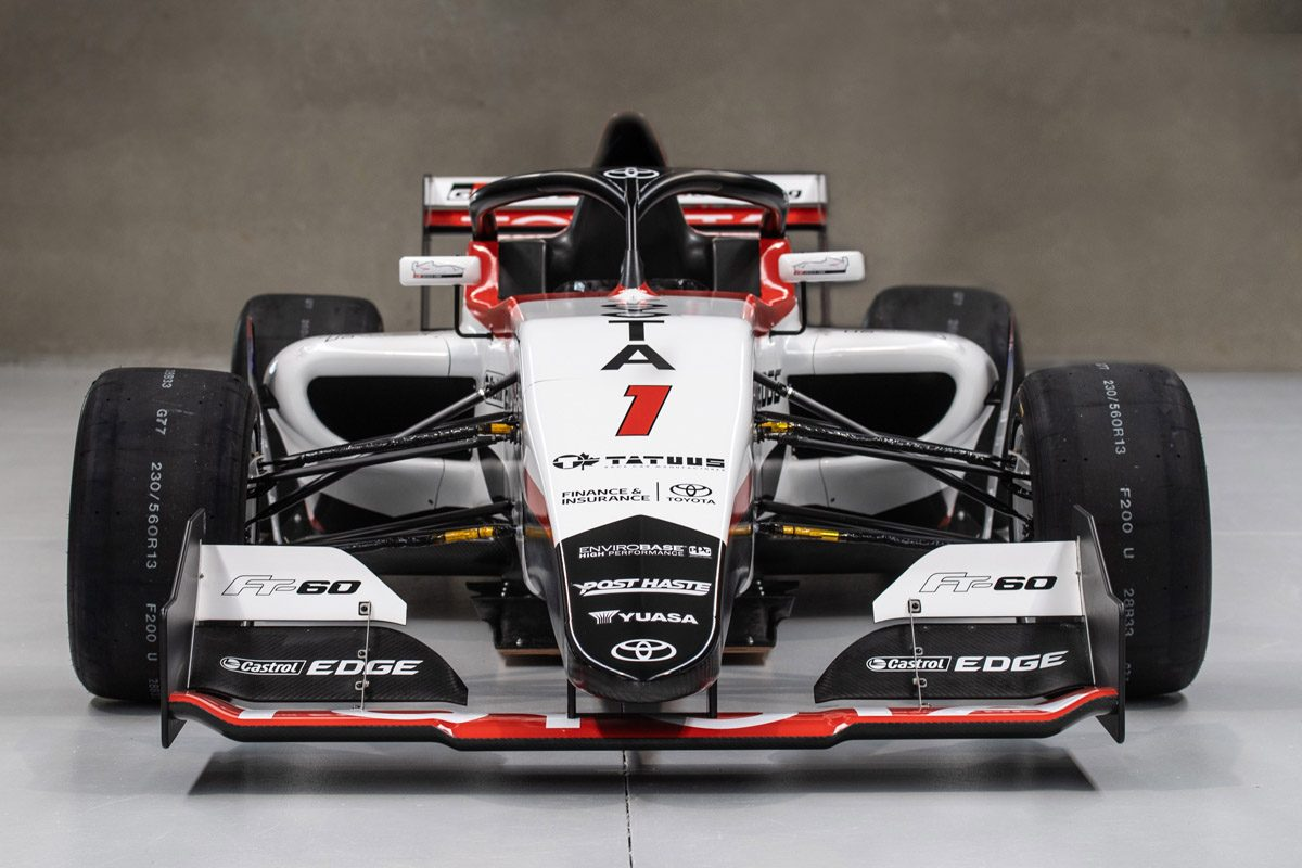 toyota racing series unveils all-new car