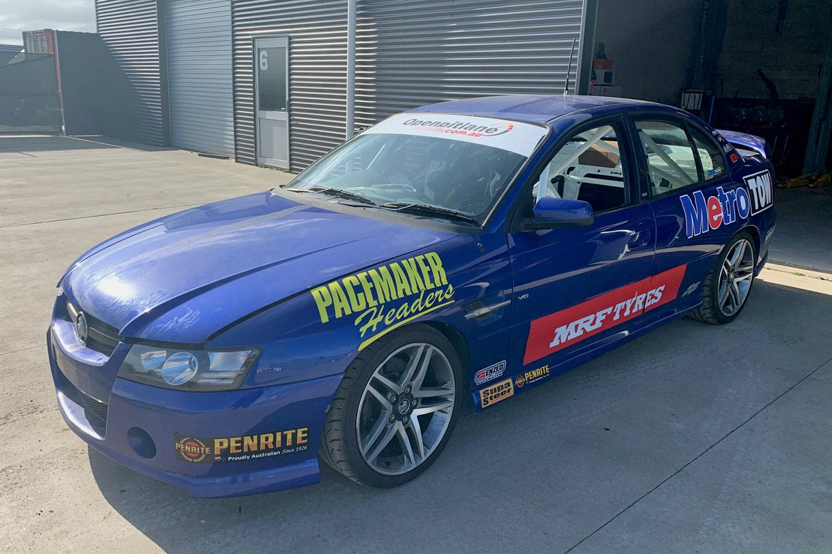 Bogan spec' Commodore to race in Australian Production Cars - Speedcafe