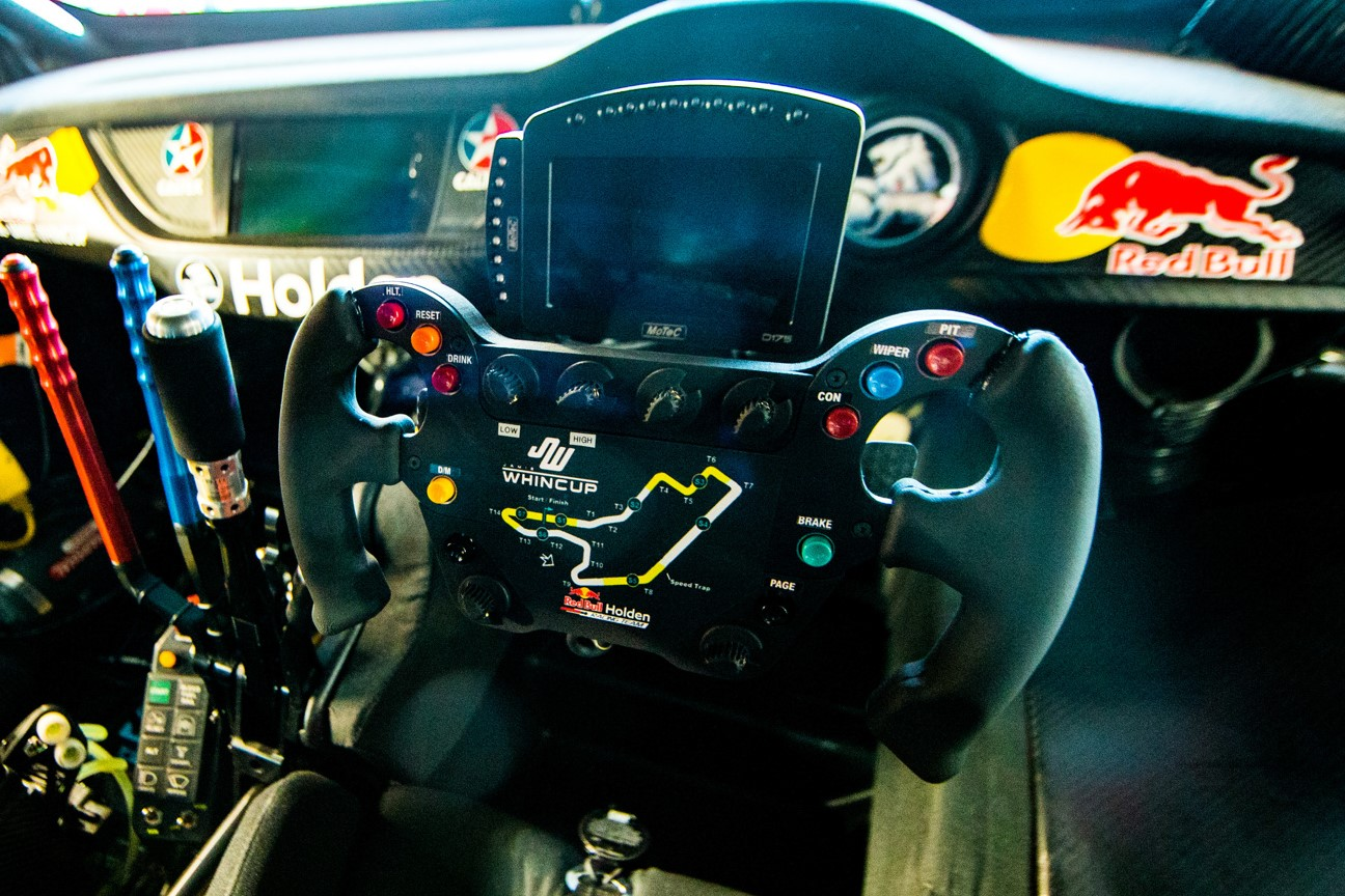 Video Whincup Explains 3d Printed Gt Style Steering Wheel Layout Speedcafe