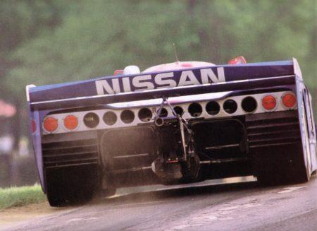 1988 - Rear of Nissan