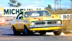 Norm Beechey driving the HT Holden Monaro GTS 350. ATCC winner 1970