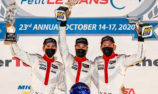 Campbell and Porsche GT Team celebrate first win of the season at Petit Le Mans
