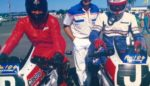 Jim Richards Peter Brock JH 1986 Surfers Celebrity race