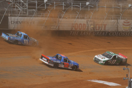 NASCAR Camping World Truck Series Pinty's Truck Race on Dirt Practice