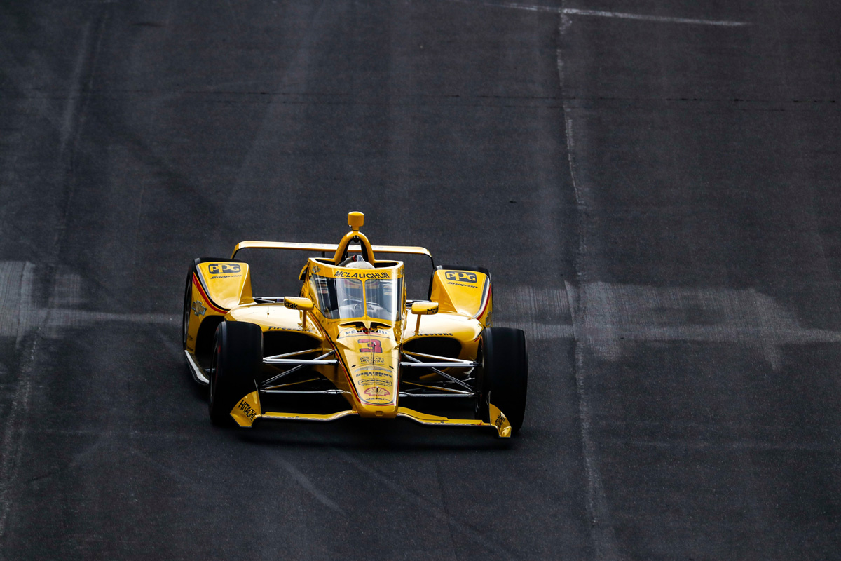 McLaughlin third in opening Indy 500 practice - Speedcafe
