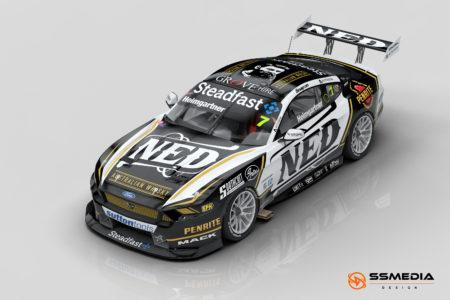 2022 Gen3 Mustang AH NED Racing pass 3-4 view
