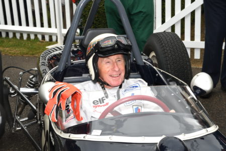 Goodwood Revival 2021 Jackie Stewart Picture by: Simon Hildrew