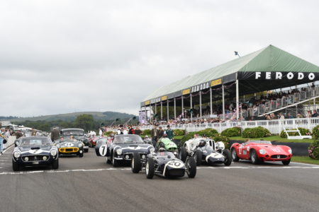Goodwood Revival 2021 Sir Stirling Moss Tribute Picture by: Simon Hildrew